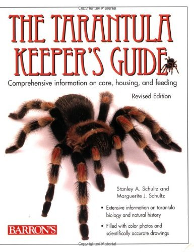 (The Tarantula Keeper's Guide: Comprehensive Information on Care, Housing, and Feeding Publisher: Barron's Educational Series; 3rd edition )