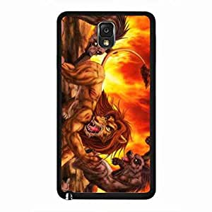 The Lion King Protection Plastic Cover Protector funda For Samsung Galaxy Note 3, The Lion King Samsung Galaxy Note 3 funda Cover, Samsung Galaxy Note 3 The Lion King Cover TPU funda