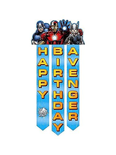 Avengers 'Assemble' Happy Birthday Banner