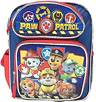 fb3c59b86fa Image Unavailable. Image not available for. Colour: Paw Patrol Small Backpack  Team ...