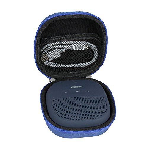 Hermitshell Hard EVA Travel Blue Case Fits Bose SoundLink Micro Waterproof Bluetooth Speaker