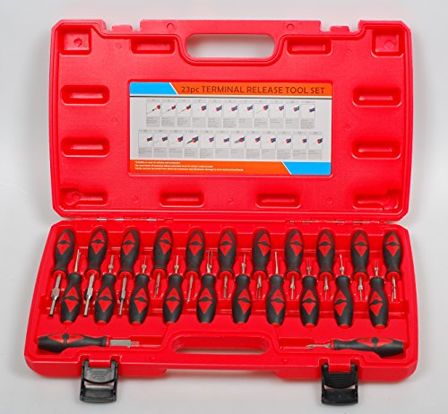PMD Products 23 pc Automotive Master Universal Terminal Connector Release Tool Set by PMD Products