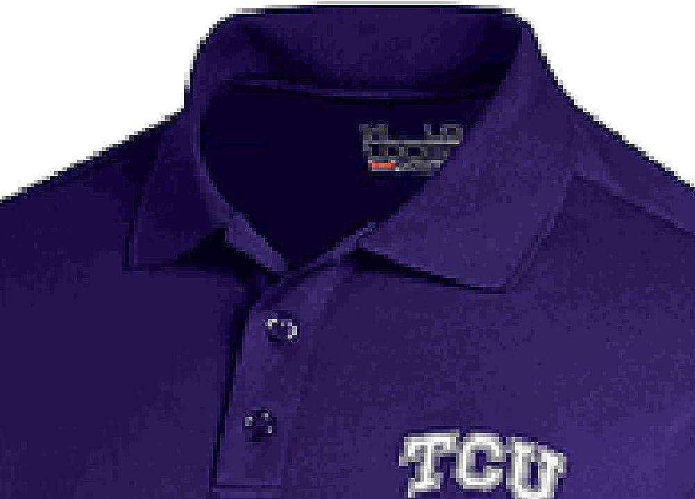 TCU Horned Frogs Short Sleeve Polo Shirt by Levelwear