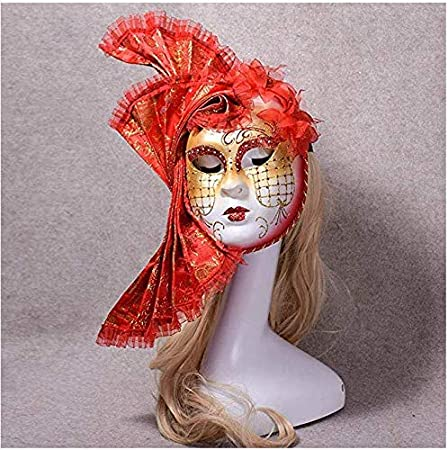 ERTY&OMB Máscara de Halloween Máscara de Ojos fantasía Pintada ...