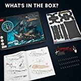 CubicFun 3D Puzzle for Adults Moveable LED Pirate