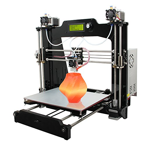Geeetech Pro I3 M201 Self-assembly 2-in-1-out 3D printer DIY Kits, Mix color, High quality Desktop 3D printer Support PLA and ABS Geeetech Printers