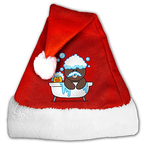 Merry Christmas A Bubble Bath Christmas Hat Santa Claus Hat