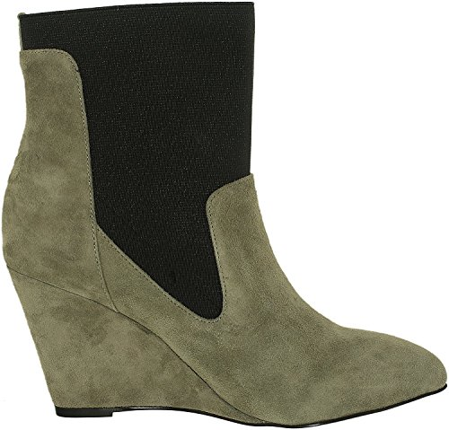 Charles by Charles David Womens Erie Ankle Bootie Stone Grey YFfhJJ5