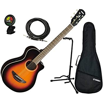 yamaha apxt2 ovs 3 4 scale mini acoustic electric guitar old violin burst w gig bag. Black Bedroom Furniture Sets. Home Design Ideas