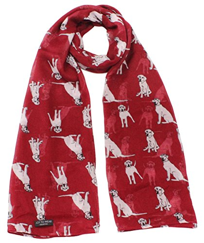 Labrador Dog Print (Labrador Dog Print Ladies Fashion Scarf)
