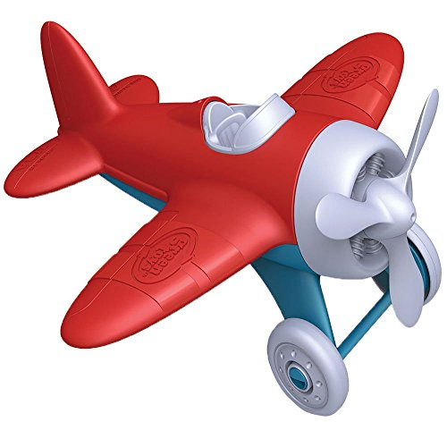 Green Toys Airplane - BPA Free, Phthalates Free, Red Aero Plane for Improving Aeronautical Knowledge of Children. Toys and -
