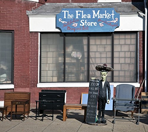 Photograph - Flea market store, North Capitol St. near intersection with Quincy Pl, NW, Washington, D.C.- Fine Art Photo Reporduction 44in x ()