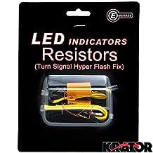 LED Bulb Load Resistors Flashers Turn Signals Indicators Side Lights Fix for Cars Motorcycles Trucks Accent Lights