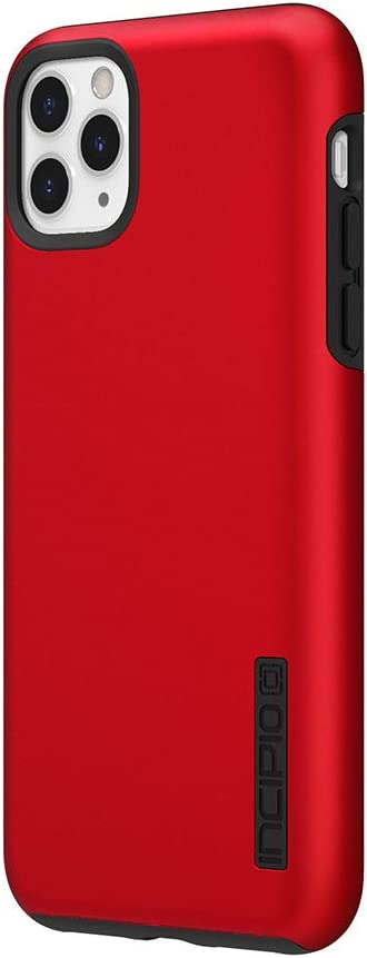 Incipio DualPro Dual Layer Case for Apple iPhone 11 Pro Max with Flexible Shock-Absorbing Drop-Protection - Iridescent Red/Black