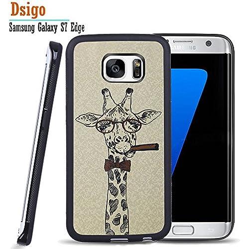 Galaxy S7 Edge Case, Samsung S7 Edge Black Case, Dsigo TPU Black Full Cover Protective Case for New Samsung Galaxy Sales