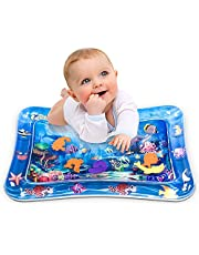 Infinno Inflatable Tummy Time Mat Premium Baby Water Play Mat for Infants and Toddlers Baby Toys 3 6 9 12 Months, Strengthen Your Baby's Muscles, Portable