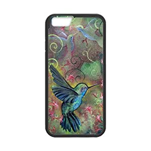 iPhone 6 Protective Case -Holy Hummingbird Hardshell Cell Phone Cover Case for New iPhone 6