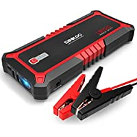 GOOLOO SuperSafe Car Jump Starter, 1500A Peak Quick Charge 3.0 Auto Battery Booster Power Pack