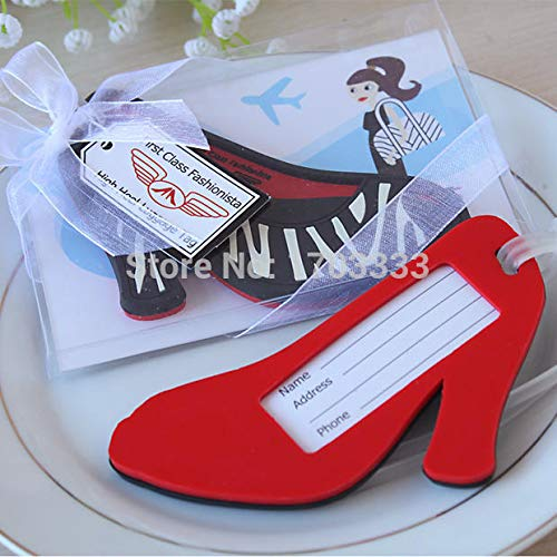 Supply Shoes - Fashionista Quot Heel Shoe Luggage Tag Wedding Favors Birthday Gifts Baby Shower Giveaway - Label Cruises Map Birthday Dress Board Costume Sunbeauty Tag Cheongsam]()