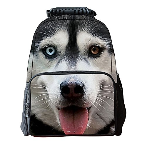 Personalized Animal Boys Girls Bags 3D Unisex's School Backpacks Vivid Zrong Dog7 Daypack Print Outdoor wnX0Cq4wx