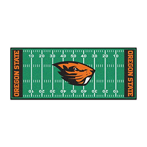 """FANMATS 19543 Team Color 30""""x72"""" Oregon State Runner"""