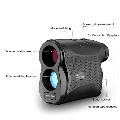 DEKO Golf Laser Rangefinder,Laser Range Finder with Slope, Fog,Scan,Precision Speed Measurement by DEKO (Image #1)
