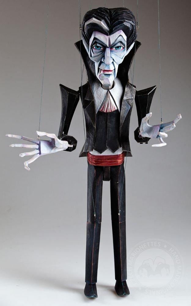 Vampire Barnabas January Czech Handmade Marionette Puppet by CzechMarionettes (Image #4)