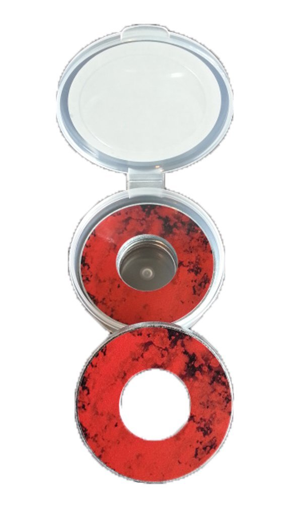 Blood Splatter Pitching Washers W/Case by Inkin It Up
