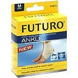 Futuro Ankle Around Support Wrap # 47875, Medium/ pack, 2 pack