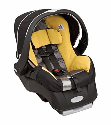 Evenflo Embrace 35 DLX Infant Car Baby Seat with Base, Tangerine
