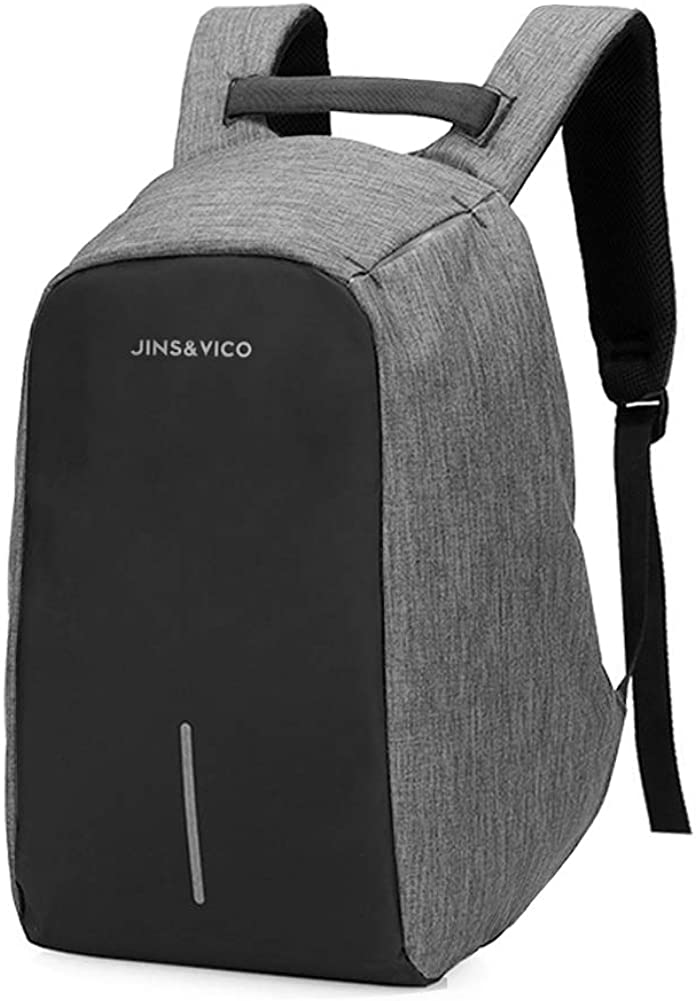 Anti-Theft Laptop Waterproof Travel Work College Backpack for Women Men