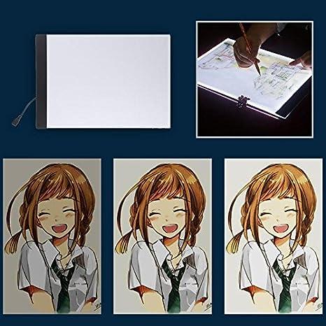 Fasmodel Sale 2 8w 5v Usb Led A4 Paper Copy Pad Desk Anime