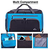 Venture Pal Packable Sports Gym Bag with Wet Pocket   Shoes ... fad0bf721ca1a