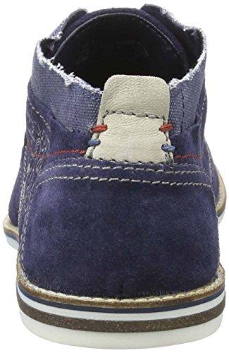 Bugatti 311111131400, Zapatos de Cordones Derby para Hombre Azul (Dark Blue 4100)