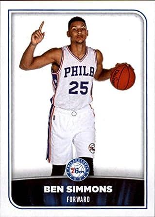 fdcfc8eada6 2017-18 Panini NBA Stickers  162 Ben Simmons Philadelphia 76ers Basketball  Sticker