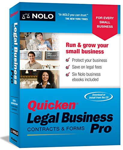 Nolo Press Quicken Legal Business Pro