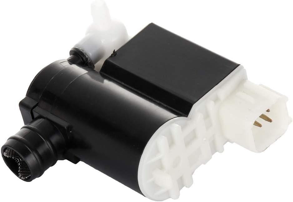 cciyu Windshield Washer Pump Motor Front/Rear Replacement fit for Hyundai Kia Sedona/Sportage 98510-2L100 98510-2C100 98510-25100