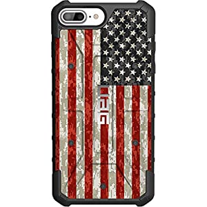 Limited Edition – Authentic UAG- Urban Armor Gear Case for Apple iPhone 8 Plus/7 PLUS/6s Plus/ 6 Plus (Larger 5.5″) Custom by EGO Tactical- USA Digital Camouflage Flag