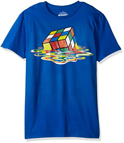 Rubik's Cube Men's Melting Short Sleeve T-Shirt