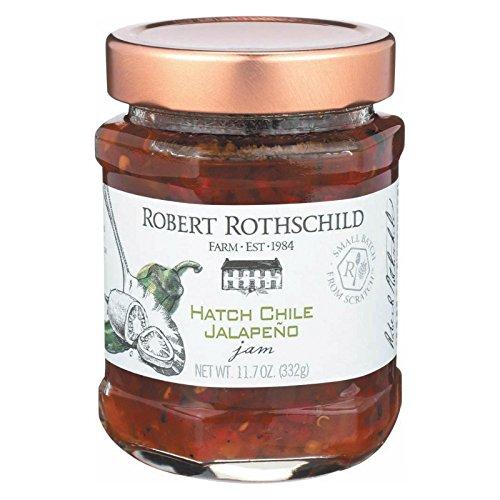 Rothschild Jam,Hatch Chile Jalapeno 11.7 Oz (Pack Of 6) - Chile Jam