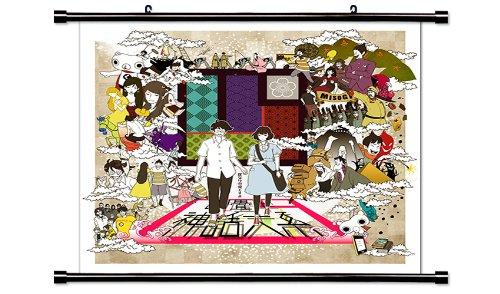 The Tatami Galaxy Anime Fabric Wall Scroll Poster Wp Tat-1 L