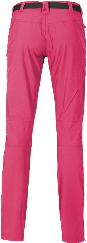 schnelltrocknend Slim fit dryprotec Gewebe pflegeleicht schmaler Schnitt - Bielastische Outdoorhose Bergson Damen Funktionshose MENA