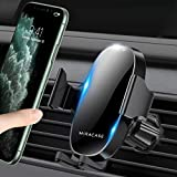 【2020 Upgraded】 Miracase Car Phone Mount, Air Vent Cell Phone Holder for Car, Universal Car Phone Holder Cradle Compatible with iPhone 12 Pro Max/11/11 Pro/11 Pro Max/XR/Xs/8/7/6,S10+ and More