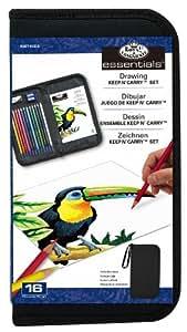 Royal & Langnickel Drawing Essentials Keep N' Carry Set