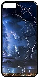 Great Thunderstorm In City Retro Vintage Design iPhone 6 (4.7 inch) Hard Shell Case Cover by iCustomonline