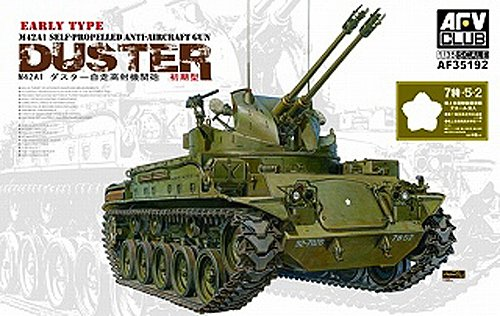 (AFV Club Models 1/35 M42A1 Early Type)