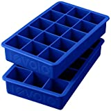 Tovolo Perfect Cube Ice Trays, Stratus Blue, Set of 2