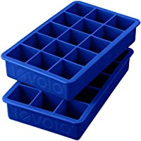 Set of 2 Tovolo Perfect Cube Ice Trays (Stratus Blue)