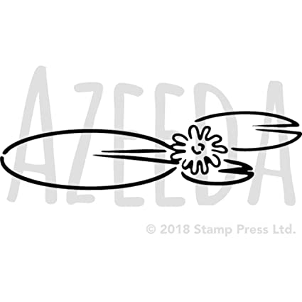 amazon com a4 lily pads wall stencil template ws00010681