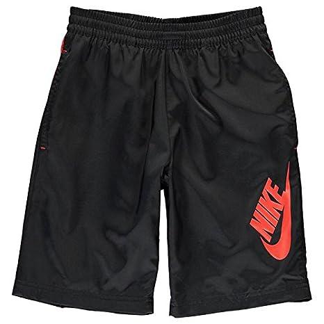 pantaloni nike rossi e neri
